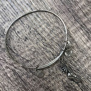 Alex and Ani Running shoe silver bracelet